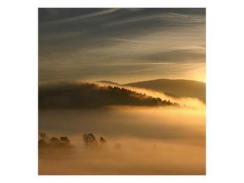 Obraz hor v mlze (F001451F5050)