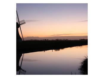 Obraz rybníku u mlýna (F001556F5050)