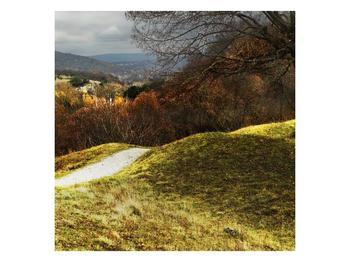 Obraz podzimního pahorku (F001650F5050)