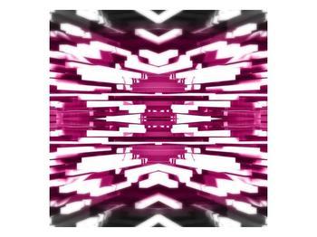 Abstraktní fialový obraz (F002254F5050)