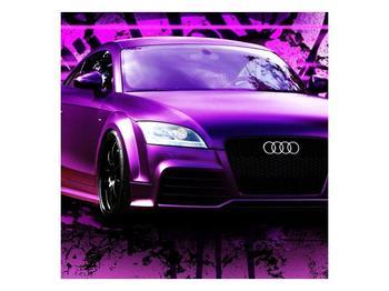 Obraz fialové Audi (F002349F5050)