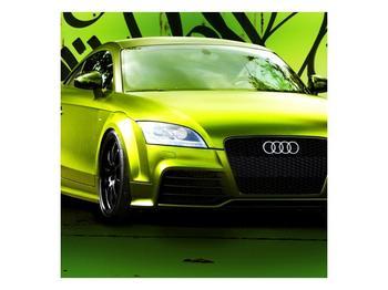 Obraz zelené Audi  (F003676F5050)