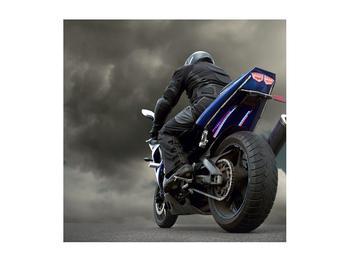 Tablou cu motociclist cu motocicletă (K011302K5050)