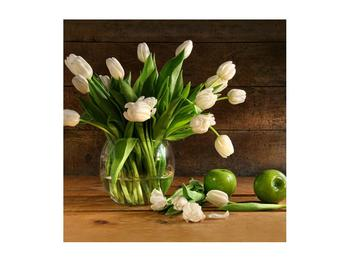 Tablou cu lalele în vază (K011364K5050)