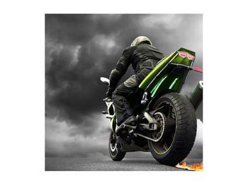Tablou cu motociclist pe motocicletă (K011383K5050)