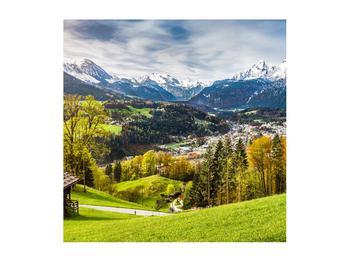 Tablou cu peisaj montan (K011867K5050)