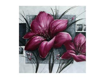 Tablou modern cu flori (K012355K5050)