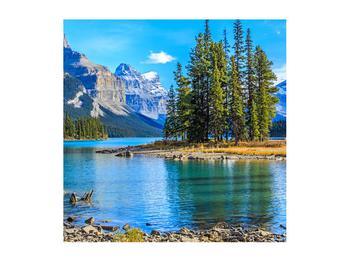 Obraz horské krajiny s řekou (K014679K5050)