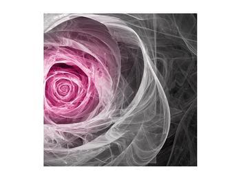 Abstraktní obraz růže (K014952K5050)