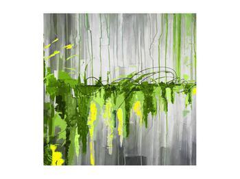Abstraktní obraz - malba (K014961K5050)