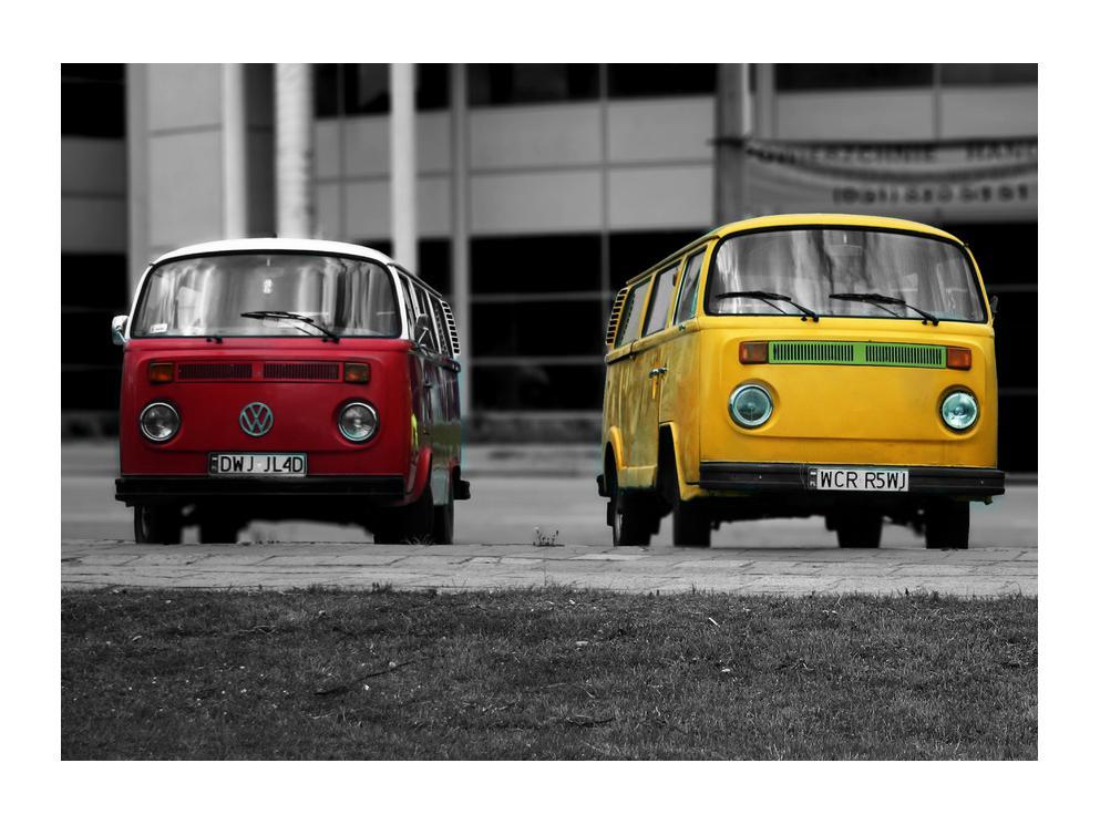 Obraz starých vozidiel (K011401K7050)