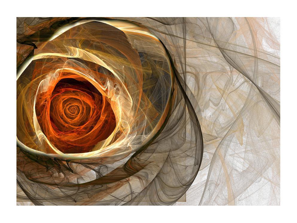 Tablou modern cu trandafir (K011863K7050)