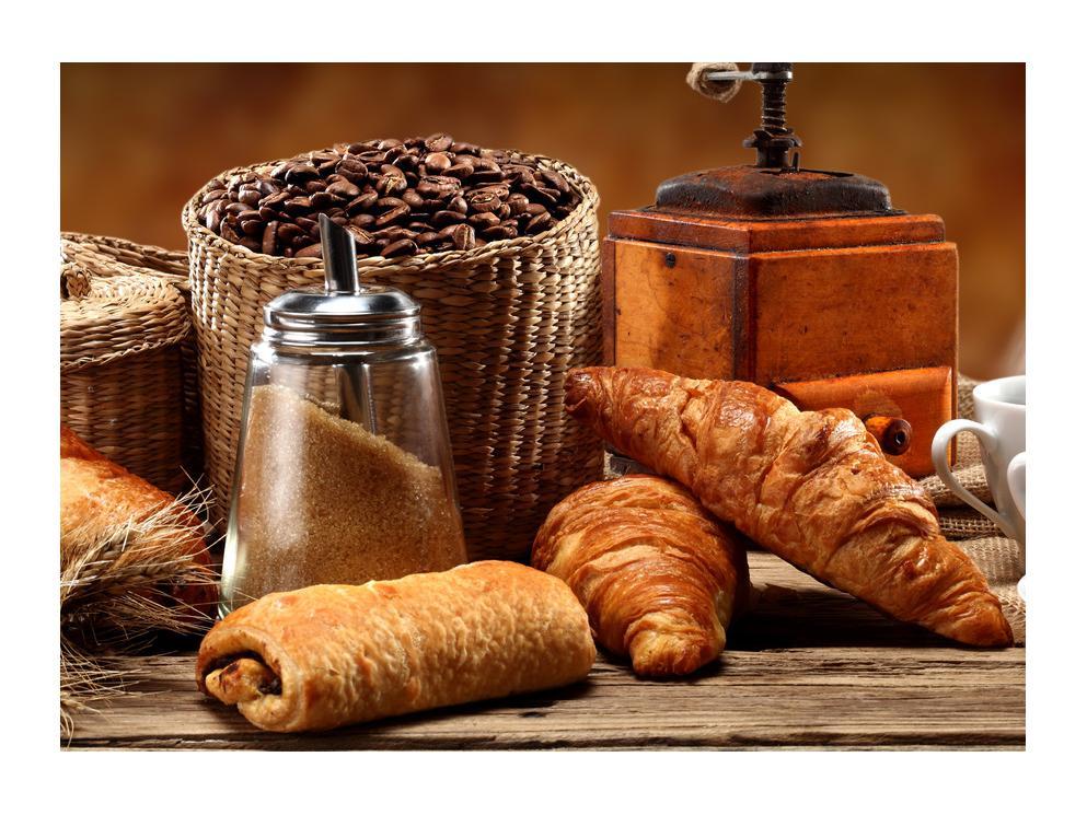 Slika kroasana i kave (K012163K7050)