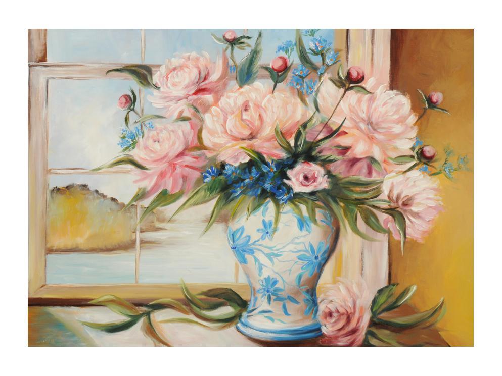 Slika cvijeća u vazi (K012738K7050)