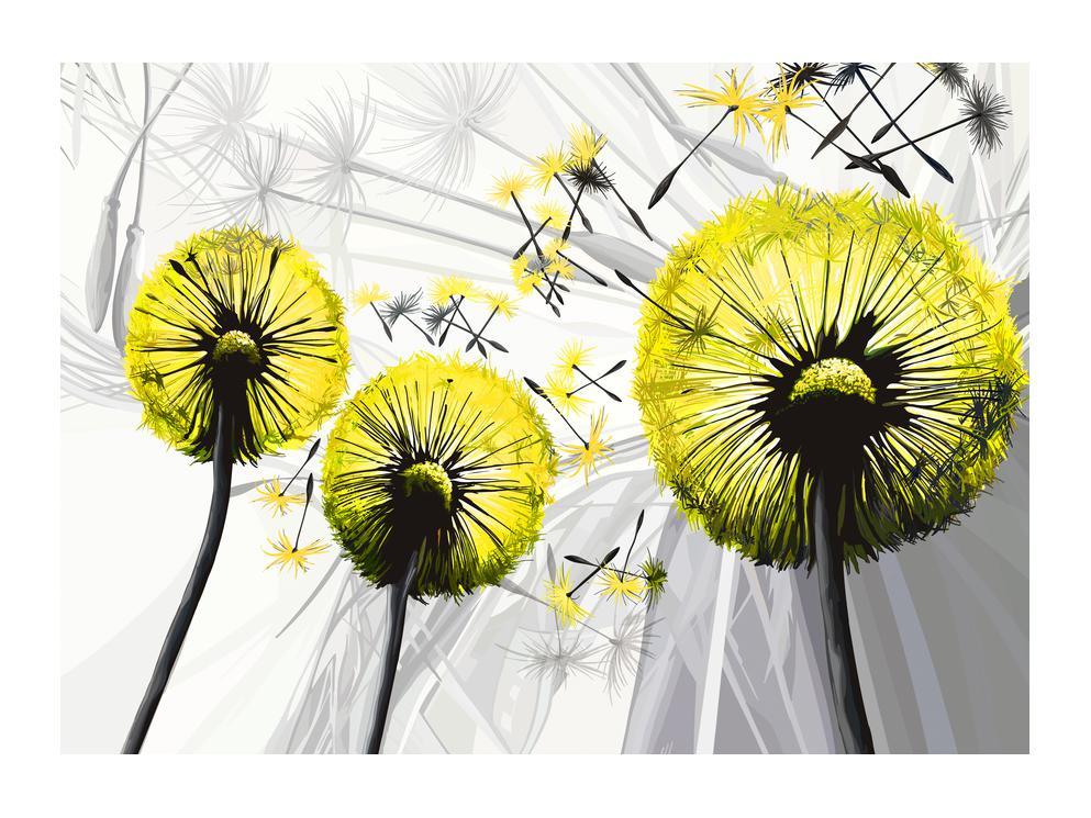 Tablou galben cu păpădii (K014028K7050)