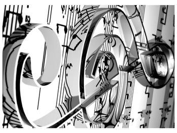 Moderní obraz houslového klíče (F000206F7050)