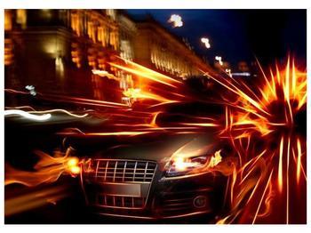 Obraz jedoucího auta (F000797F7050)