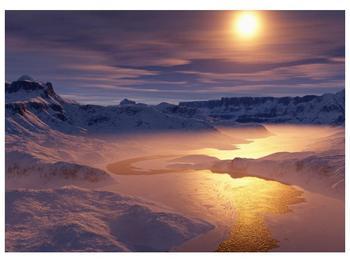 Krásný obraz zimní krajiny (F000939F7050)