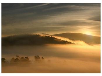 Obraz hor v mlze (F001451F7050)