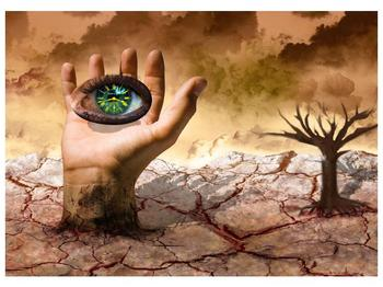 Obraz oka na dlaňi (F001485F7050)