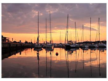 Obraz přístavu (F001605F7050)
