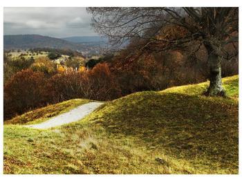 Obraz podzimního pahorku (F001650F7050)