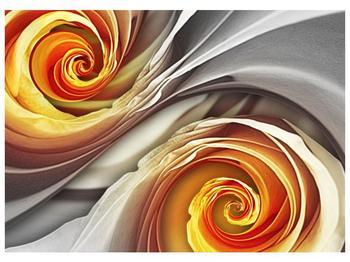 Abstraktní obraz - spirál (F001693F7050)