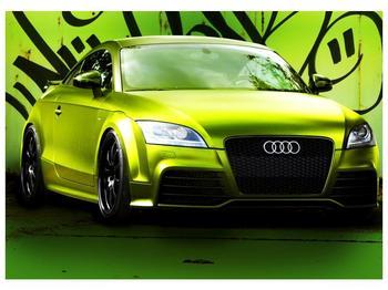 Obraz zelené Audi  (F003676F7050)