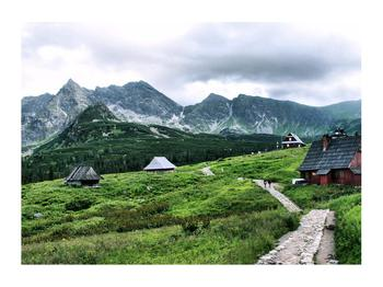 Obraz horské krajiny (K010099K7050)