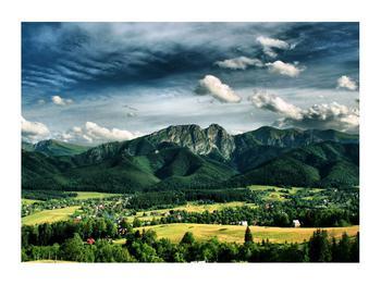 Obraz horské krajiny (K010215K7050)