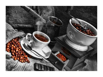 Obraz šálku kávy  (K011370K7050)