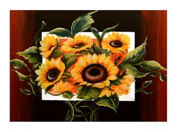 Tablou cu floarea soarelui (K011496K7050)