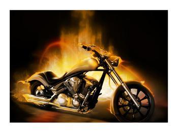 Tablou cu motocicleta (K012329K7050)