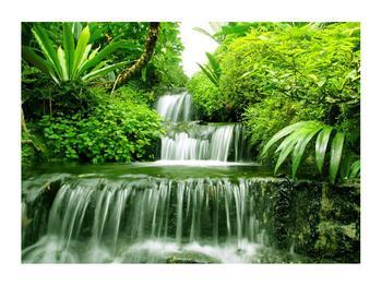 Obraz indonéských vodopádů (K012353K7050)