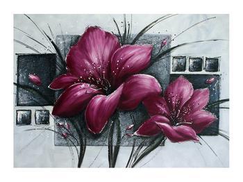 Tablou modern cu flori (K012355K7050)