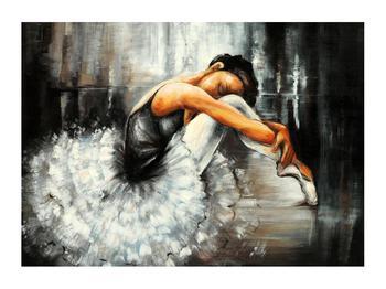 Obraz nešťastné baletky (K012404K7050)