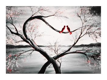 Zamilovaný obraz ptáků (K012527K7050)