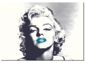 Obraz Marilyn Monroe s modrými rty (K014373K7050)