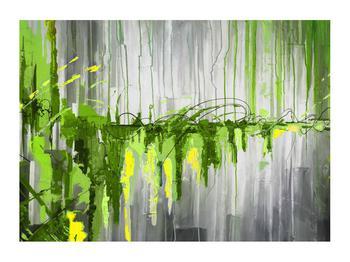 Abstraktní obraz - malba (K014961K7050)