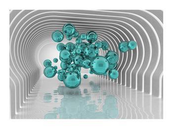 Abstraktní obraz - bubliny (K014966K7050)