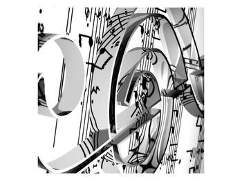 Moderní obraz houslového klíče (F000206F7070)