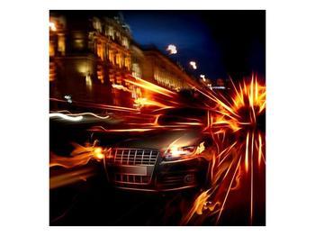 Obraz jedoucího auta (F000797F7070)