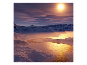 Krásný obraz zimní krajiny (F000939F7070)
