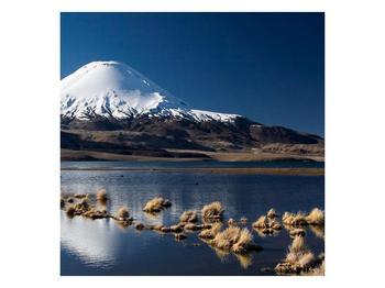 Obraz zasněžené hory (F000974F7070)