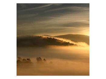 Obraz hor v mlze (F001451F7070)