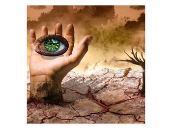 Obraz oka na dlaňi (F001485F7070)