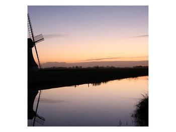 Obraz rybníku u mlýna (F001556F7070)