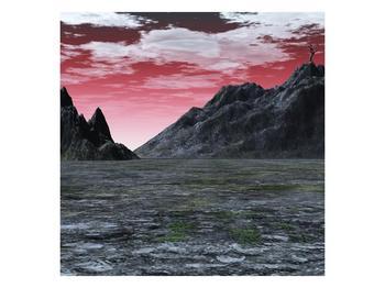 Obraz skalnaté přírody (F001712F7070)