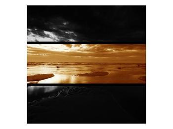 Dvroubarevný obraz moře (F001957F7070)