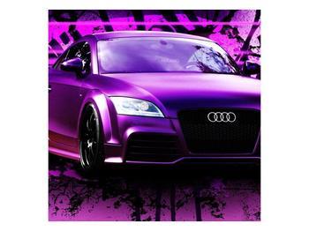 Obraz fialové Audi (F002349F7070)
